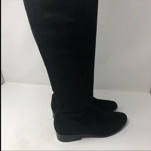 Aldo Size 7.5 Black Over The Knee Boots